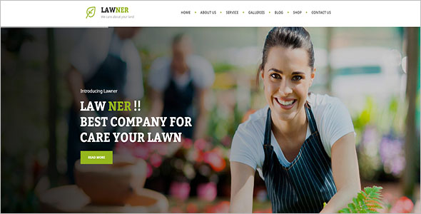 Landscaping Blog HTML Template
