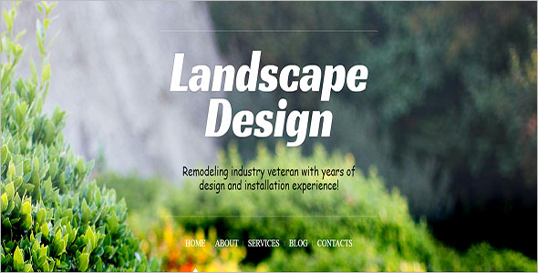 Landscaping Blog Theme