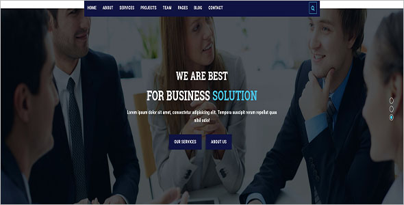 Latest Business Website Template