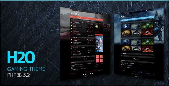 Latest Gaming PHP Theme