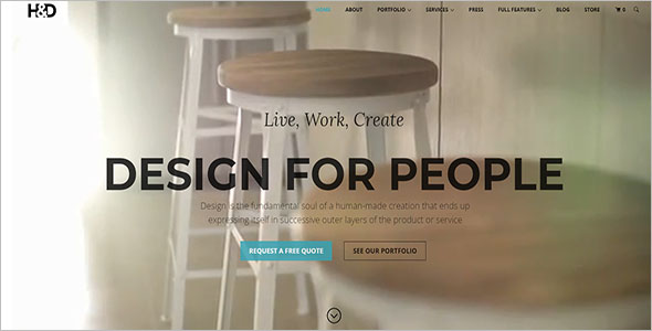 Latest Home Decor Woocommerce Template