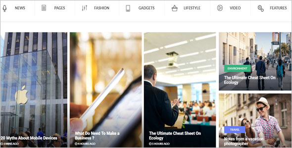 Latest News Portal Blog Theme
