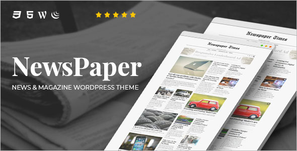 Latest Newspaper WordPress Theme