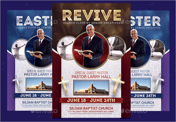 Latest Revival Flyer Template