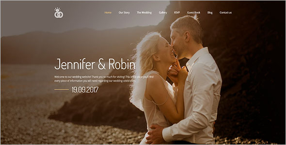Latest Wedding Bootstrap Template