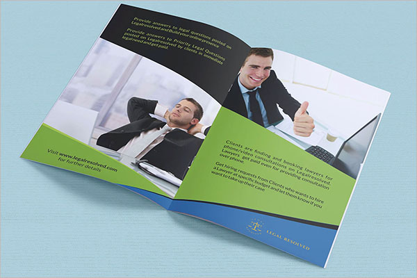 Law Firm Marketing Brochure Design