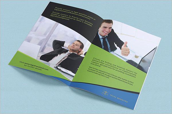 Law Firm Marketing Brochure Design