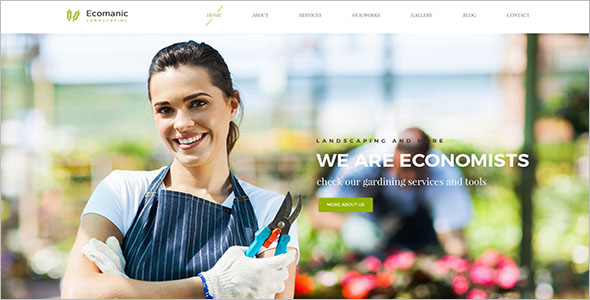 Lawn Care Blog Template