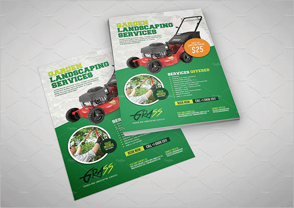 Lawn Care Flyer Design