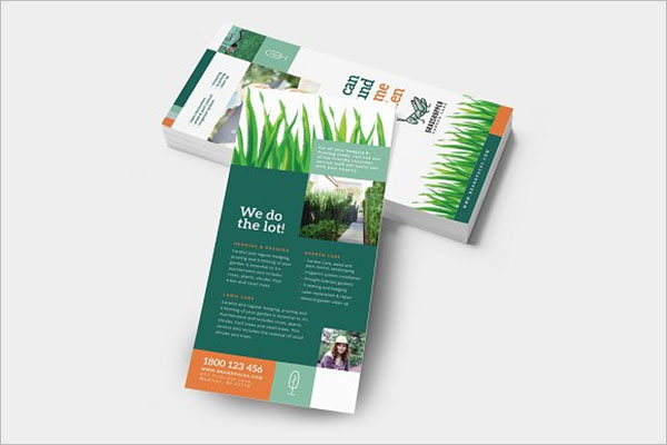 Lawn Care Flyer Illustrator