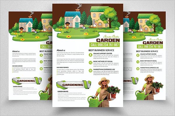 Lawn Care Flyer Template PSD