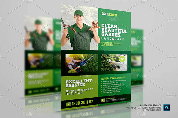 Lawn Care Services Flyer Template