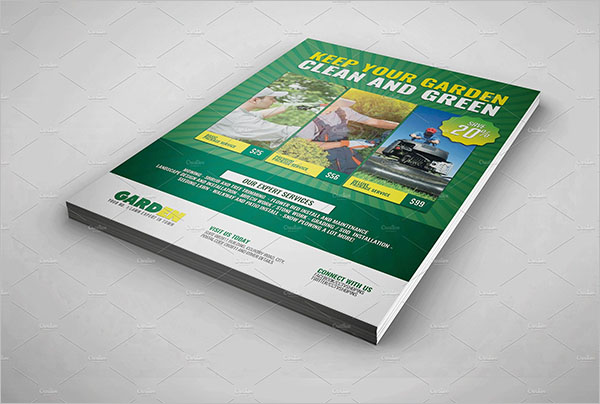 Lawn Flyer Template