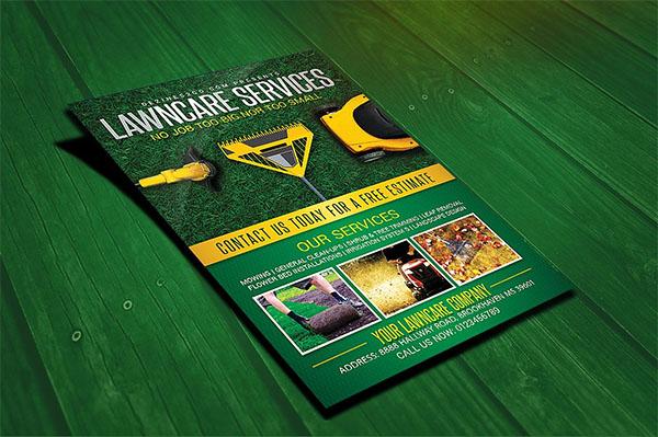 Lawn & Garden Care Flyer Template