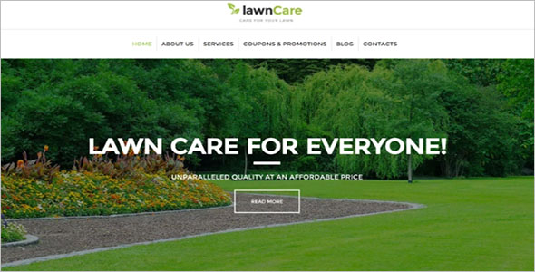 Lawn Mowing & Landscape WordPress Theme