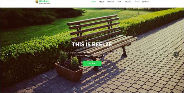 Lawn Service Blog Template