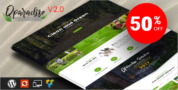 Lawn Services WordPress Theme