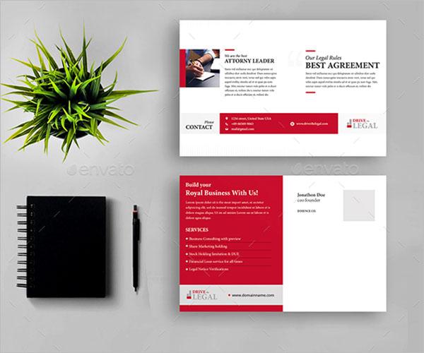Legal Brochure Design Template