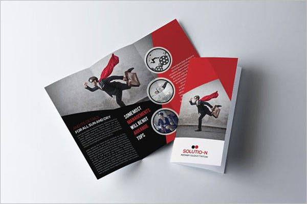 Legal Brochure Paper Template