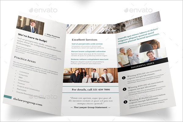 Legal Brochure Template