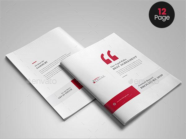 Legal Business Brochure Template