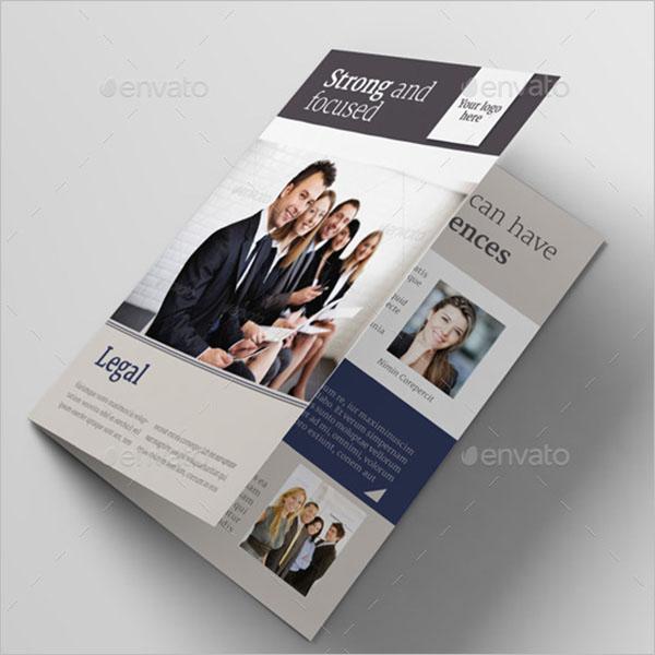 Legal Size Brochure Template