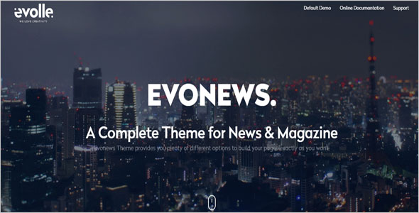 Local News Blog Theme