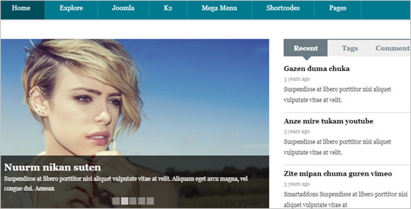 Magazine & News Blog Theme