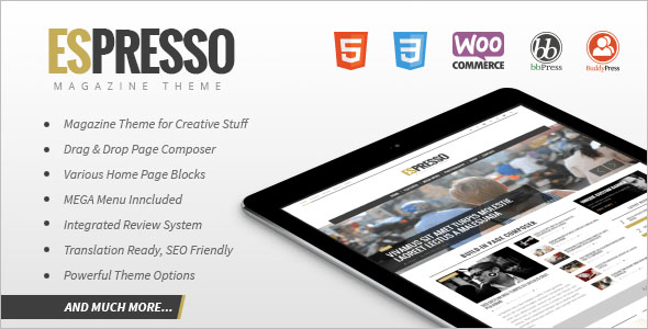 Magazine & Newspaper WordPress Theme