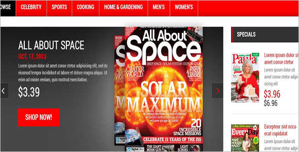 Magazine OpenCart Template