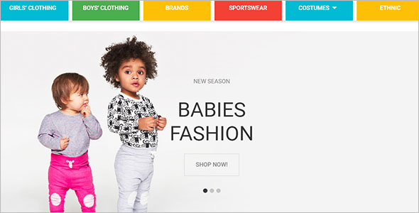 Magento Kids Template