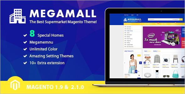 Magento Multi Store Template