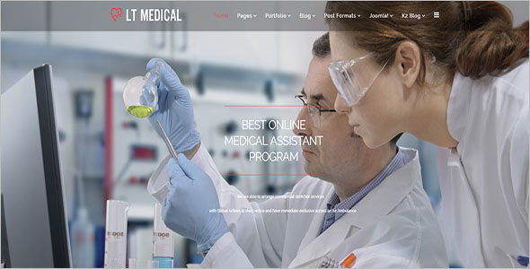 Medical Research Joomla Theme