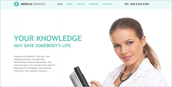 Medical School Website Template