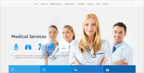 Medical Services WordPress Theme