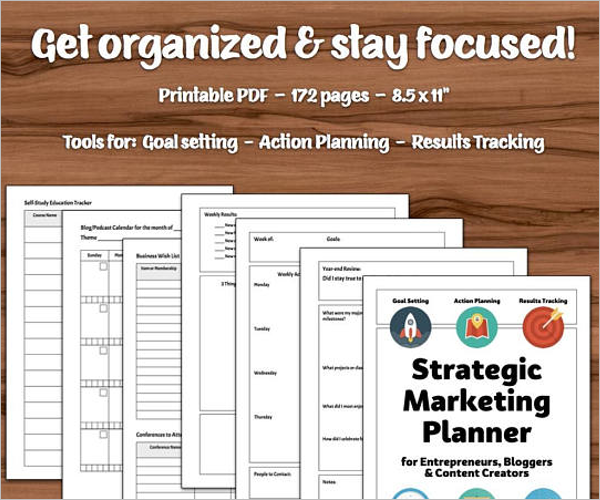 Microsoft Word Strategic Plan Template
