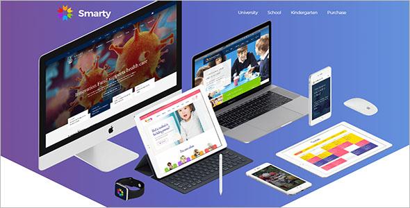 Middle School Website Template