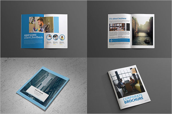 Minimal Video Brochure Template