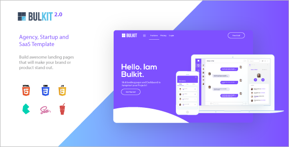 Mobile Agency Bootstrap Theme
