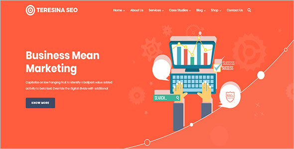Mobile Marketing Landing Page Template