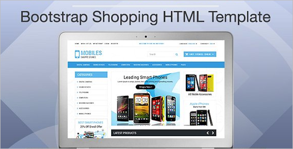 Mobile Shop Bootstrap Template