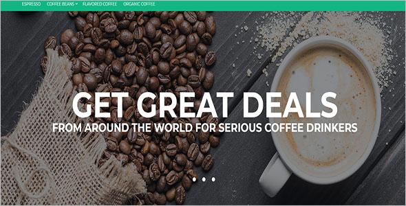Modern Coffee Magento Theme