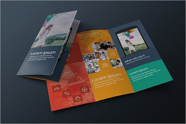 Modern Conference Brochure Template