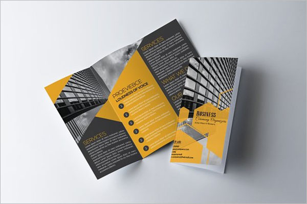 Modern Legal Brochure Template