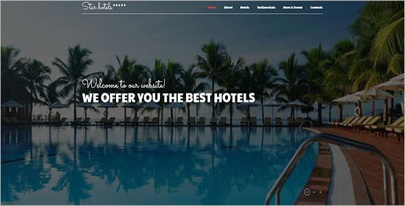 Modern Resort Joomla Template