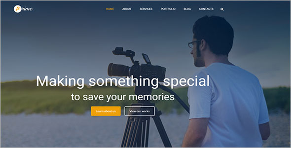 Monstroid WordPress For Photography