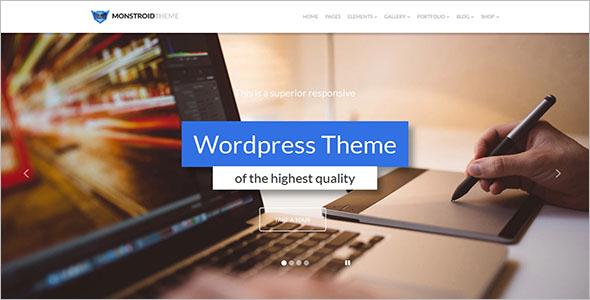 Monstroid WordPress Template