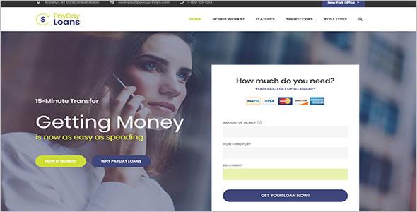 Mortgage Broker WordPress Theme
