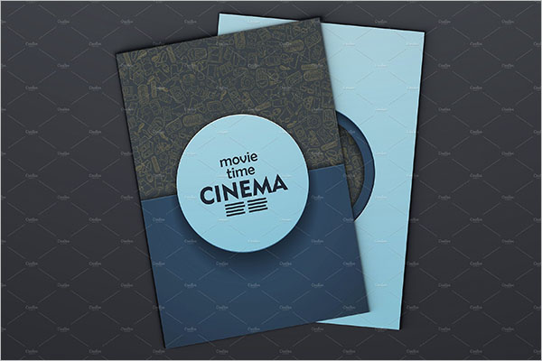 Movie Video Brochure Template