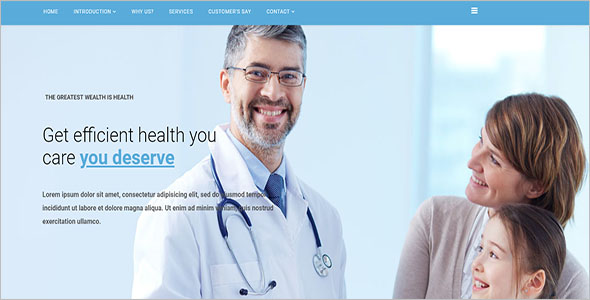 Multi-Concept Medical Joomla Theme
